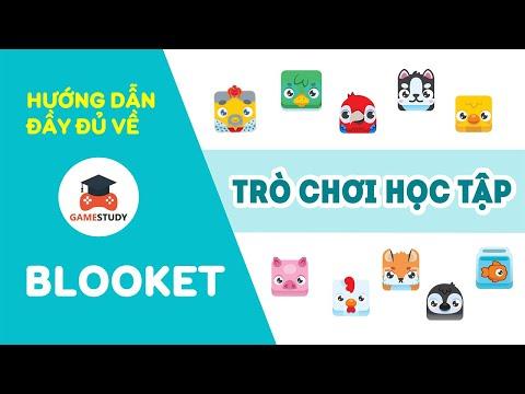 Hướng dẫn sử dụng BLOOKET -  Ứng dụng tạo trò chơi học tập