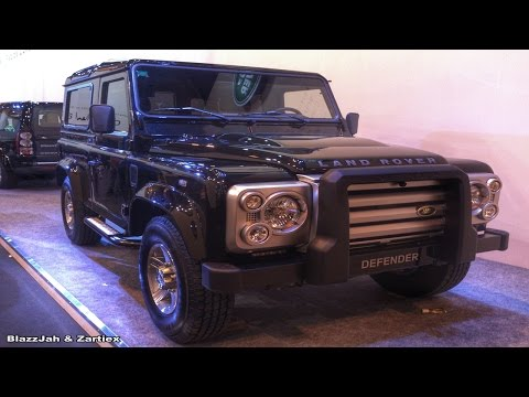 Land Rover Defender luxury cars royalty free stock photos Blazzjah