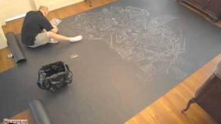 Video NYCC 2010 Chalk Mural Sketch Timelapse.mov download MP3, 3GP, MP4, WEBM, AVI, FLV Oktober 2018