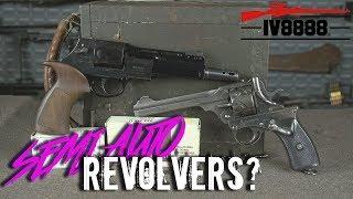 Semi Auto Revolvers?