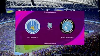 Pes 2021 - Leicester City vs Man City [Gameplay]