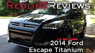 2014 Ford Escape Titanium Review, Walkaround, Exhaust & Test Drive