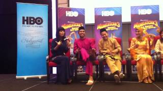 HBO Madagascar 3: Europe's Most Wanted (Bahasa Malaysia Version) Press Conference