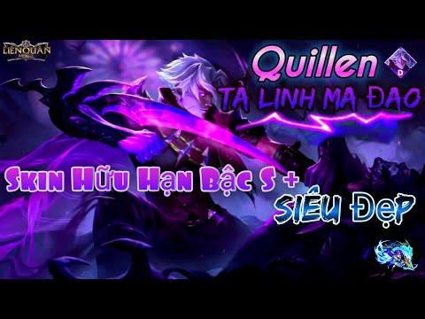 Liên quân   Quillen Tà Linh Ma Đao Skin Hữu Hạn Bậc S+ Siêu đẹp và Siêu Rẻ  Hoàng Triệu Vân