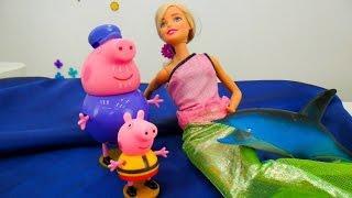 Видео с Барби и Русалкой: спасение Джорджа