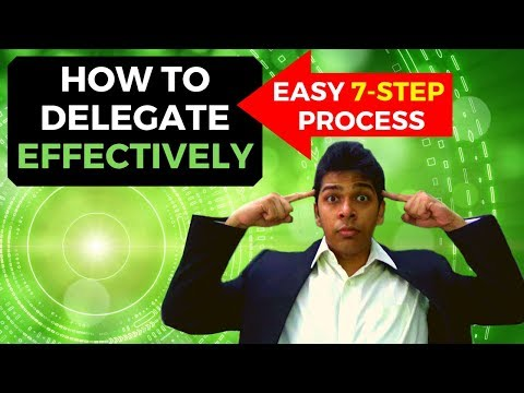 How to Delegate Effectively (7 Steps MAGIC!) | How to Delegate Work as a Leader | Self-Help Yourself