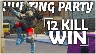 New HUNTING PARTY SKIN Gameplay in Fortnite! (Fortnite Battle Royale Gameplay)