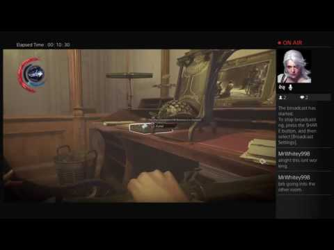 The Grand Palace pt 1 - Linkus-Fai's Live Broadcast Dishonored 2