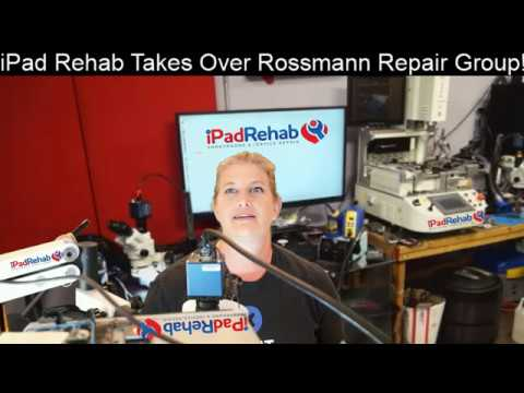 Hostile Takeover of Rossmann Repair Group by iPad Rehab