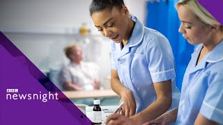 Brexit: 'Spike' in NHS drug shortages – BBC Newsnight