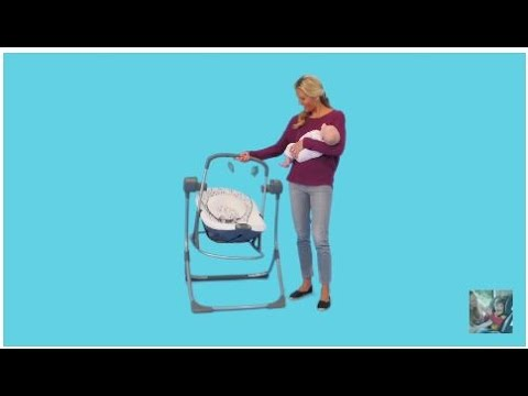 f4c4734f569a Graco Cozy Duet Swing and Rocker - YouTube