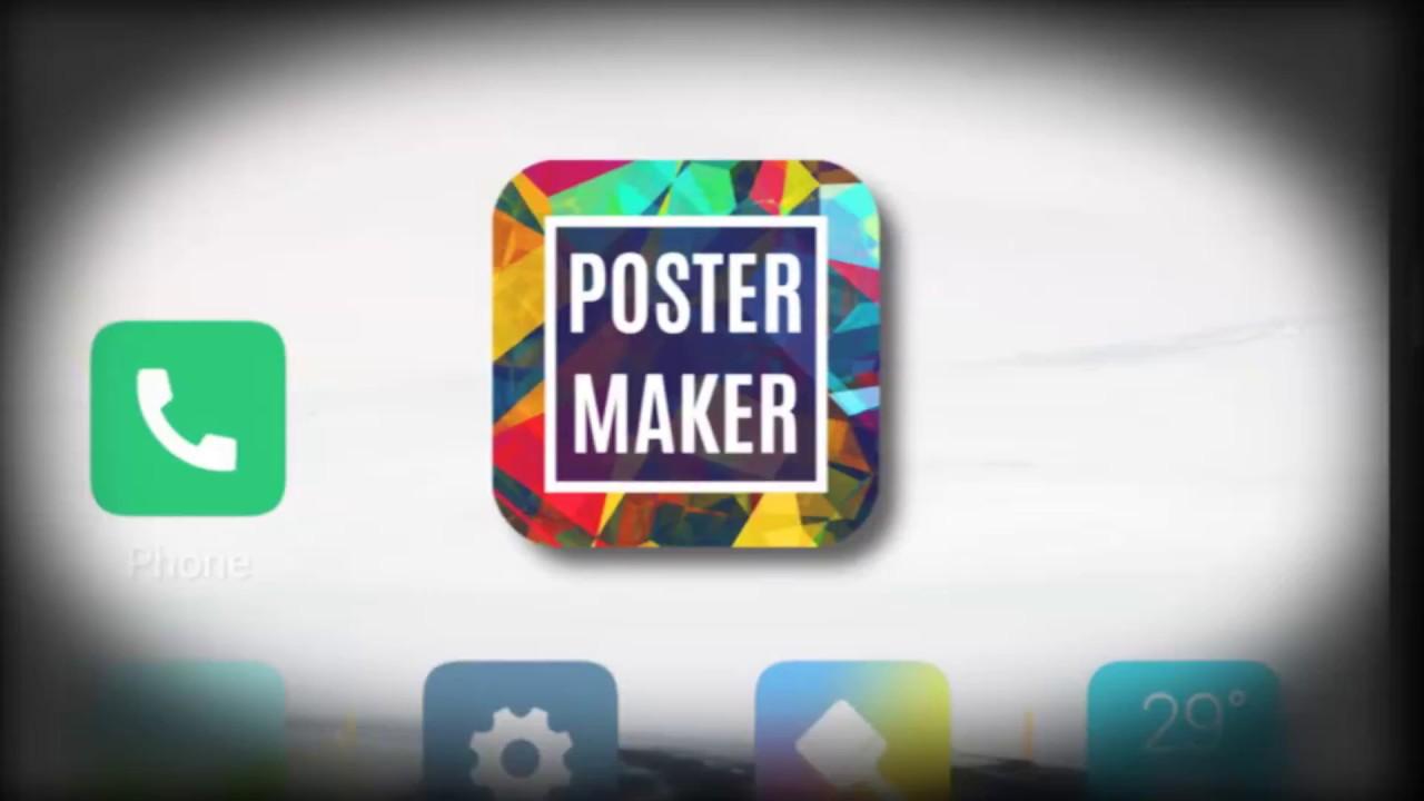 poster maker poster design flyer maker ad maker youtube