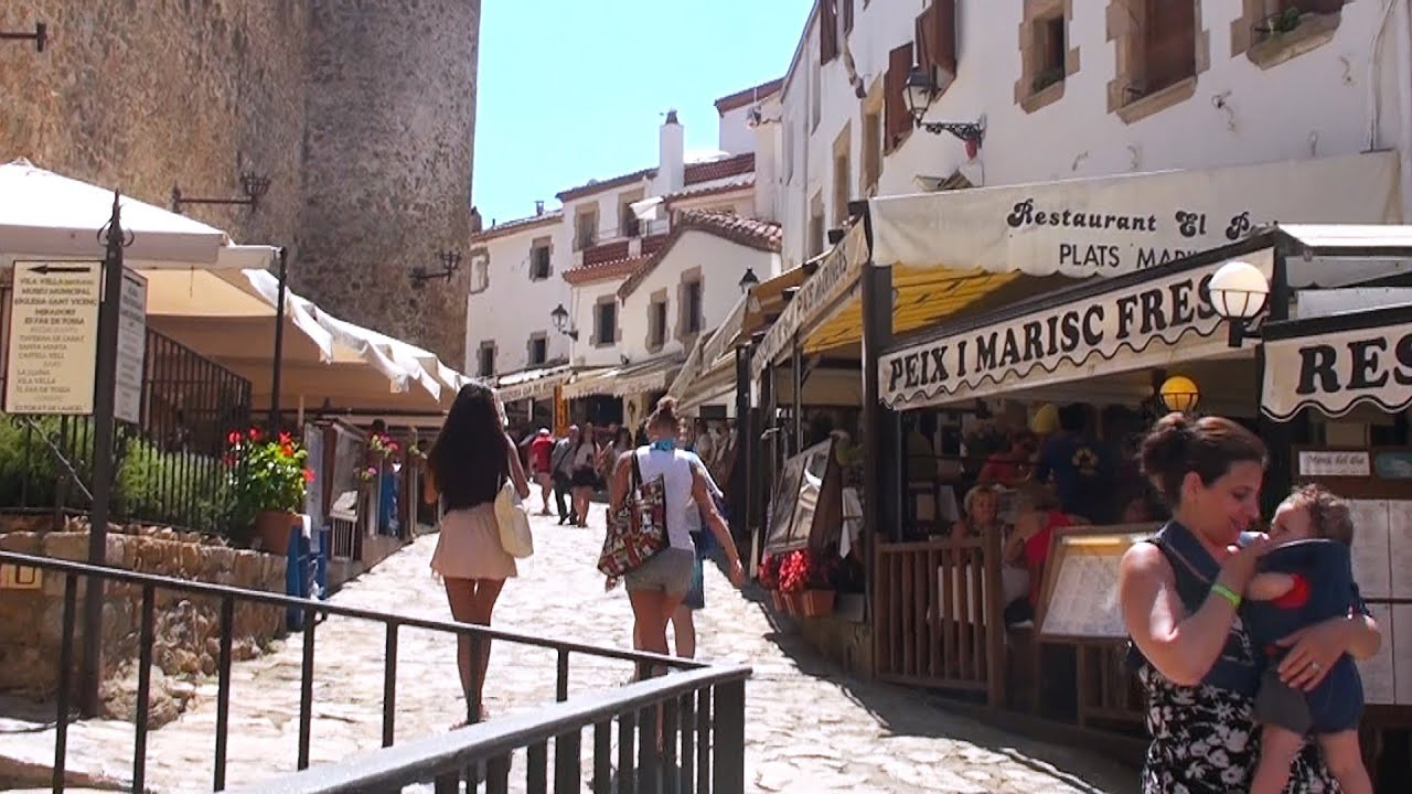 Tossa de Mar Getting Around Town YouTube