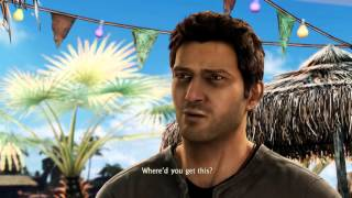 Uncharted Collection: Among Thieves - A Rock And A Hard Place: Harry Flynn & Chloe Bar Cutscene