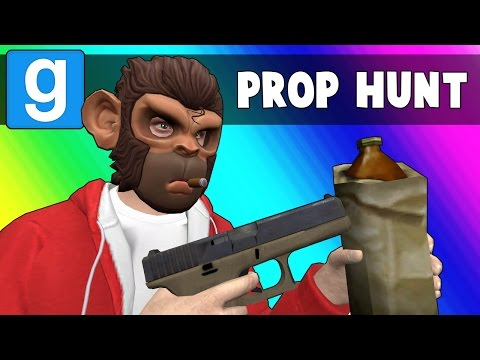 Gmod Prop Hunt Funny Moments - Drinking is Bad (Garry's Mod)