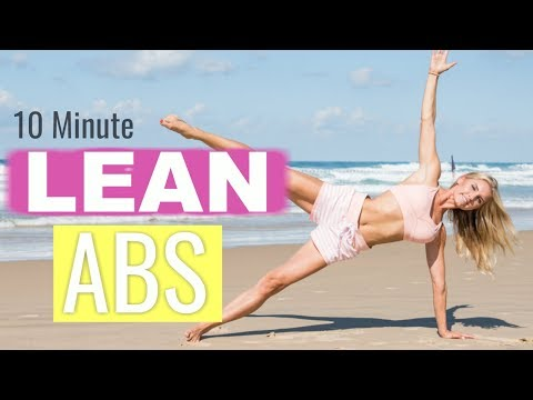 Lean Abs Workout – 10 MINUTE FLAT BELLY