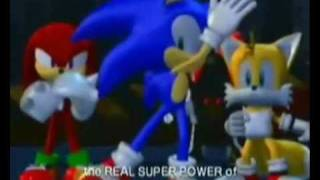 Shadow and Sonic - Im Not Afraid! (clean version)