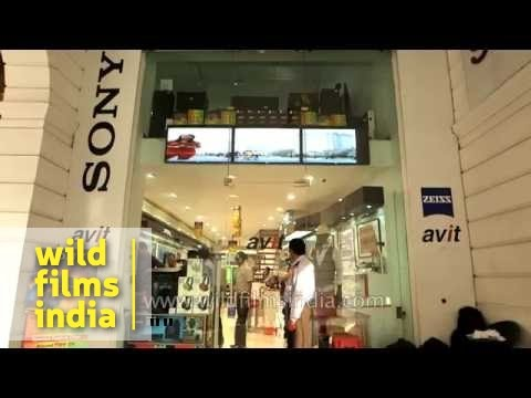 Sony music and camera store in Delhi