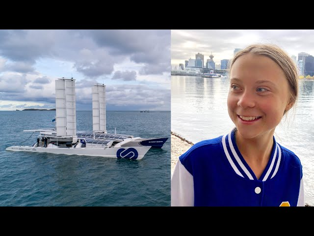 Greta Thunberg Needs a Ride, this Hydrogen-Powered Boat Would Work