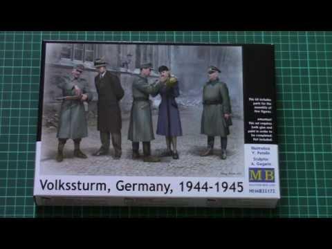 Master Box 1/35 Volkssturm, Germany 1944-1945 (MB35172) thumbnail