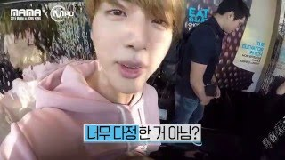 [2015MAMAxMPD] BTS Jin birthday hidden camera Jin's surprise party 151210