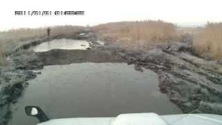 Suzuki Jimny Wide в грязи - поездка на рыбалку.(Поездка на «Прокурорскую яму», река Суйфун (Раздольное), Надежденский район, Приморский край. 1 ноября 2013..., 2013-11-16T12:23:30.000Z)