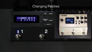 ES-5 Quick Start Chapter 9: Switching a MIDI-Equipped Effects Unit's Memory
