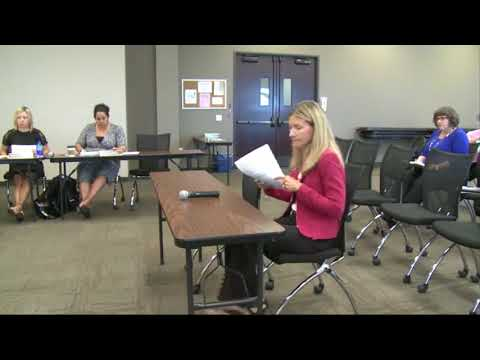 California Board of Occupational Therapy Meeting -  August 17, 2017