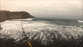 Pesca de corvinas en Iquique