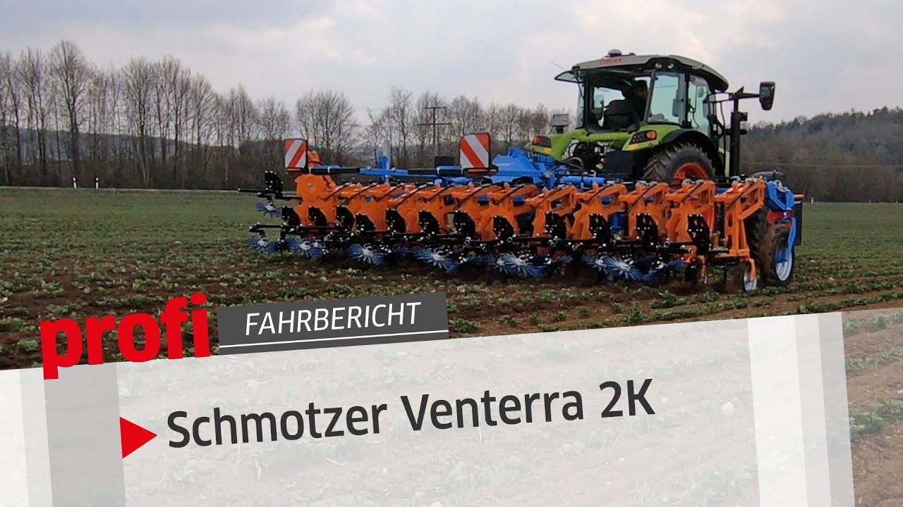 Schmotzer Venterra 2K: Hochhubhacke | profi #Fahrbericht