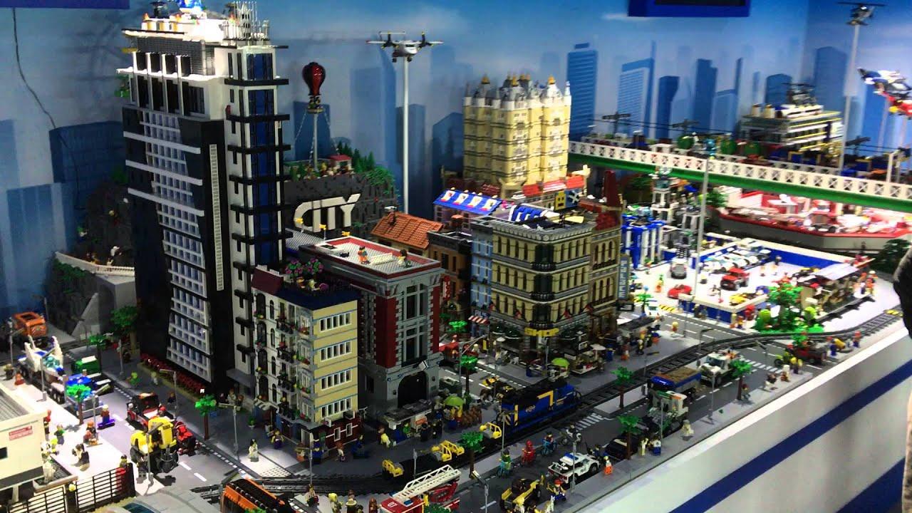 Giant LEGO CITY Diorama 2016 레고 시티 디오라마 영상 ...