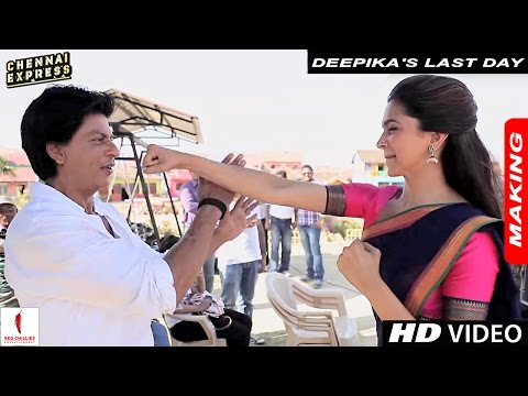 Deepika's Last Day on the Sets of Chennai...