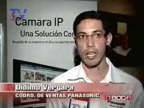 Panasonic prteleramaesentó nueva tecnologia IP