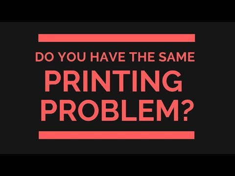 Do YOU Have the Same Inkjet Printing Problem?