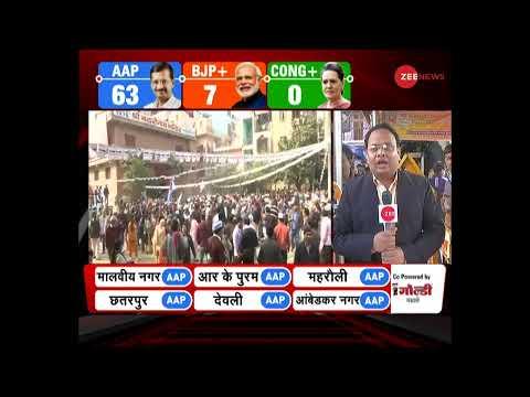 Aam Aadmi Party के दफ्तर से Arvind Kejriwal LIVE