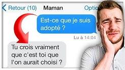 LES PIRES SMS DES MAMANS !