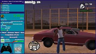 GTA San Andreas ONE HP Speedrun - A HOME IN THE HILLS