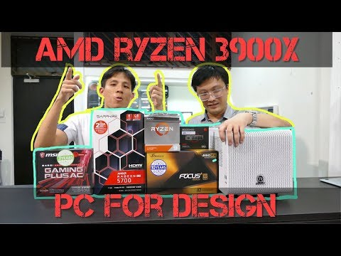 Insane AMD Ryzen Mini-ITX Design PC 2019! (Ryzen 9 3900x