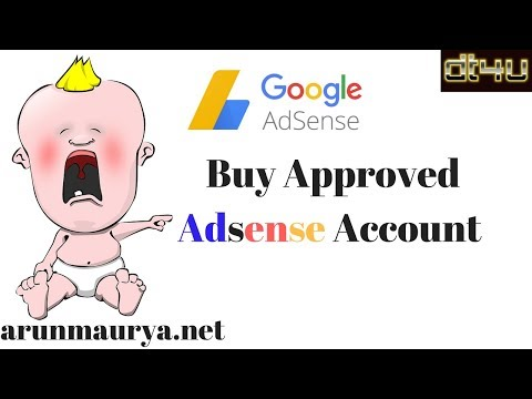 Adsense Account Advice - arunmaurya.net