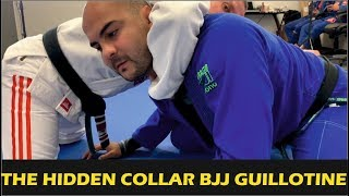 "The Hidden Collar BJJ Guillotine by Vinicius ""Draculino"""