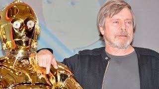 Mark Hamill,Adam Driver, / Star Wars: Episode VIII - The Last Jedi Press Conference at Tokio マークハミル 検索動画 14