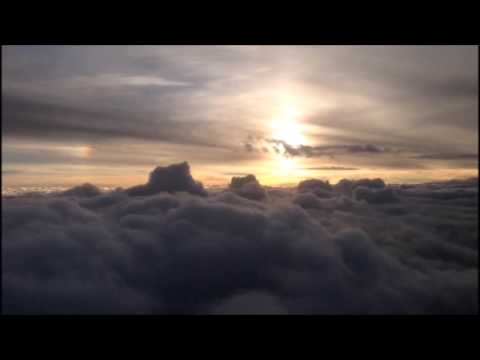 Flying Clouds - Relaxation with Turkish Airlines flight Istanbul to Basel