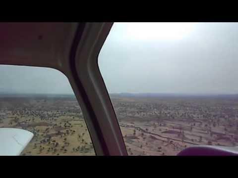 Life of a bush pilot in Sudan flying PAC 750