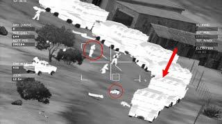 Rebels Massacred By AH-64D APACHE Gunship Footage Arma 3 Milsim Gameplay 10