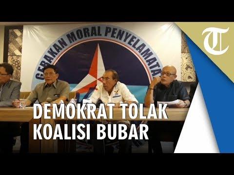 Tolak Pembubaran Koalisi, Max Sopacua: Partai Demokrat Tetap di Kubu Prabowo