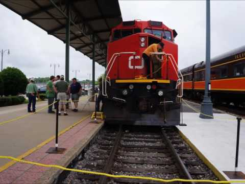 National Train Day at Memphis Tennessee Central Station June 4th 2016 Railroad & Trolley Museum
