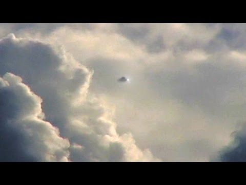 Scary UFO Event! Massive UFO Flying Saucer filmed in Clouds, Sept 2016