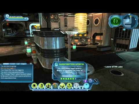 DCUO Star Labs Investigations and Briefings