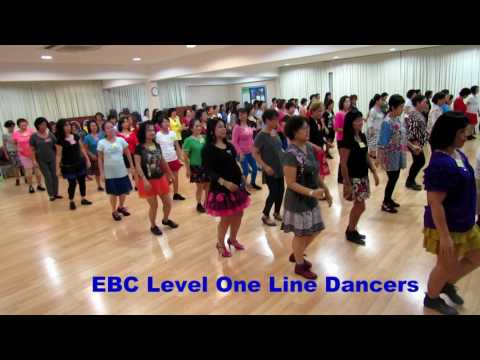 I LOVE YOU BECAUSE (Marie Sorensen) @ EBC Line Dancers 18 6 2017