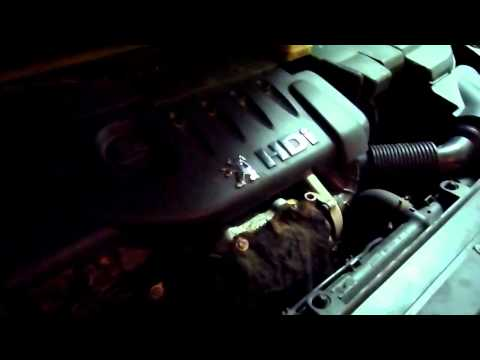 peugeot 307 1.4  hdi 70 hp engine smooth sound